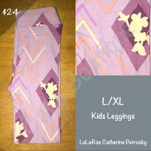 LuLaRoe Bottoms - LuLaRoe Collection for Disney L/XL leggings